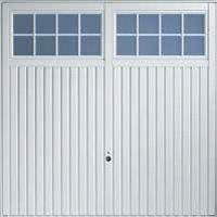 Hormann Series 2000 steel up and over garage doors Style 2101 Likley